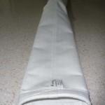 Manga cilíndrica con aros intermedios y extremos abierto con cuerda o goma
