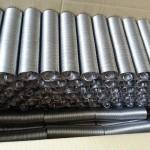 Muelles de aluminio duro